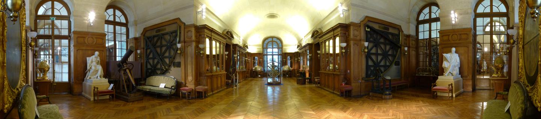 Panorama de la Grande Galerie, bâtiment Perrault