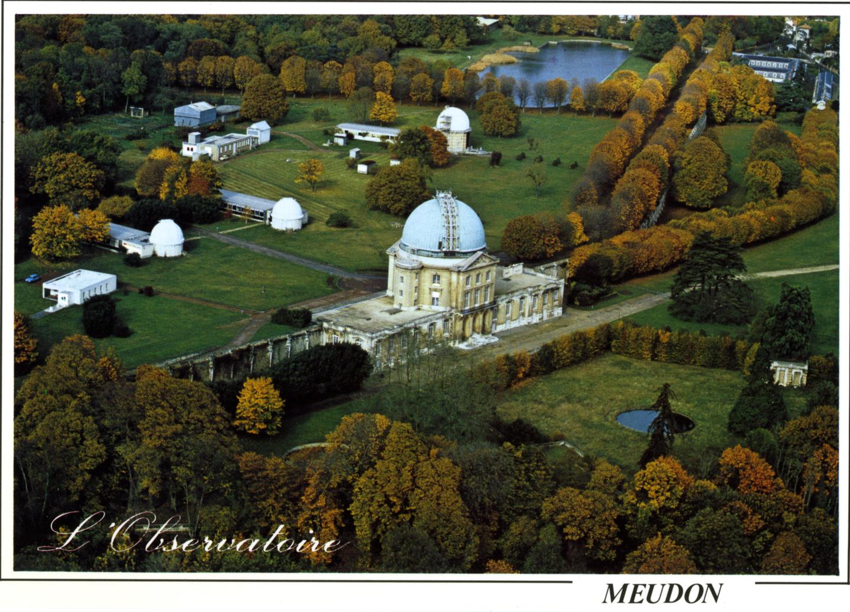 Vue aérienne de l'Observatoire de Meudon
