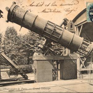 Observatoire de Paris : grand télescope [1,20m] (titre original)