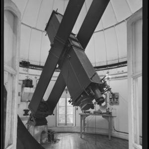 Intérieur de l'équatorial de la Carte du Ciel - Observatoire de Paris (titre forgé) / [4 images]